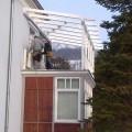 Foto IMG-20130215-00101 - Überdachung einer Terrasse, Kirchberger Holzbau