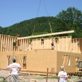 Foto IMG_5174 - Passivhaus mit Nebengebäude, Kirchberger Holzbau
